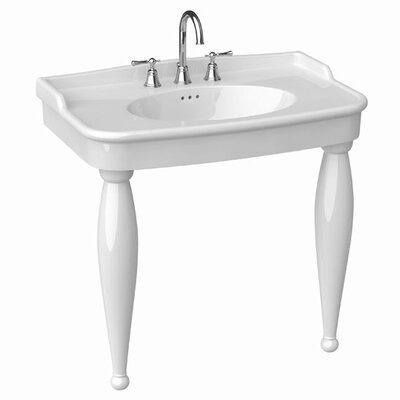 Bathroom Sink Consoles on Porcher Savina Ii Console Bathroom Sink   30068 00   Wayfair
