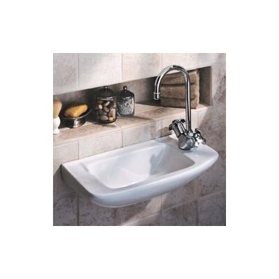 Porcher Elfe Wall Mount Bathroom Sink