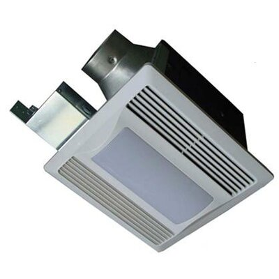 80 CFM Energy Star Bathroom Fan with Light / Nightlight