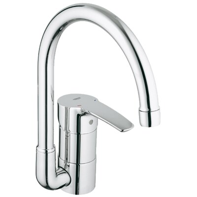 Grohe Eurostyle Single Handle Single Hole Kitchen Faucet