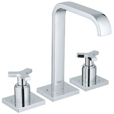 Allure Widespread Bathroom Faucet with Double Cross Handles - 20148000
