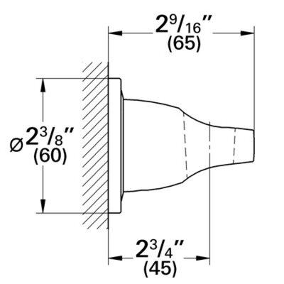 Grohe Grohe Ondus/Veris Wall Mount Hand Shower Holder