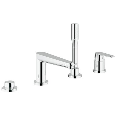 Grohe Eurodisc Cosmopolitan Volume Control Roman Tub Faucet with Hand Shower