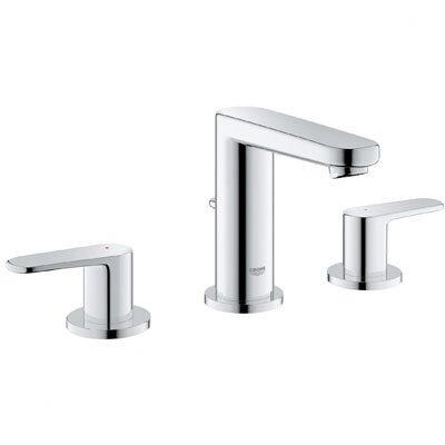 Europlus Widespread Bathroom Faucet with Double Lever Handles - 20302000