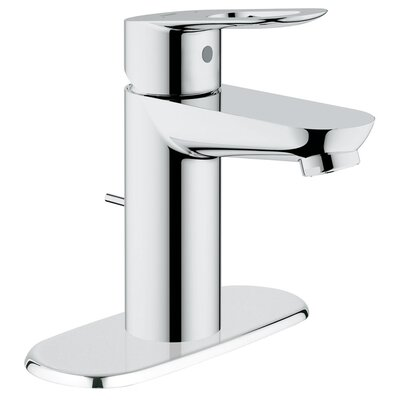 BauLoop Single Handle Centerset Bathroom Faucet with Drain Escutcheon - 20333000