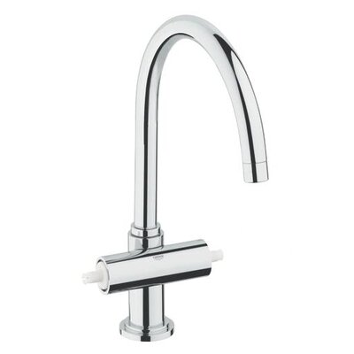Grohe Atrio High Profile Double Lever Handle Widespread Kitchen Faucet