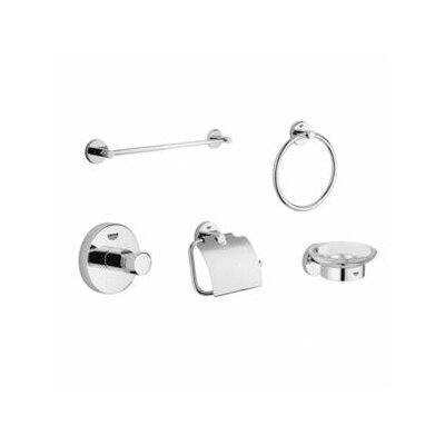 Grohe Essentials 5 Piece Bathroom Hardware Set