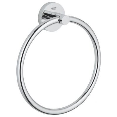 Grohe Essentials Wall Mounted Towel Ring