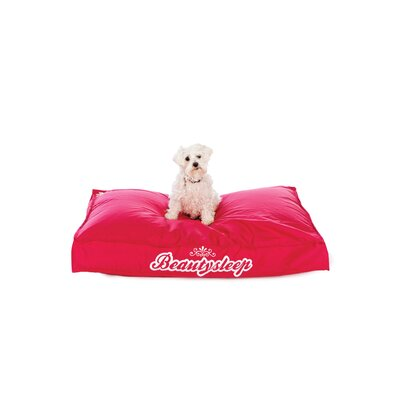 Sit On It Doggie Style Beanbag in Quiet Please Lipstick Red