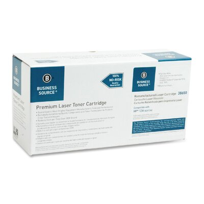 Business Source Toner Cartridge, 2000 Page Yield, Black