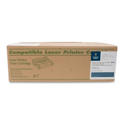 Business Source Toner Cartridge, 30,000 Page Yield, Black