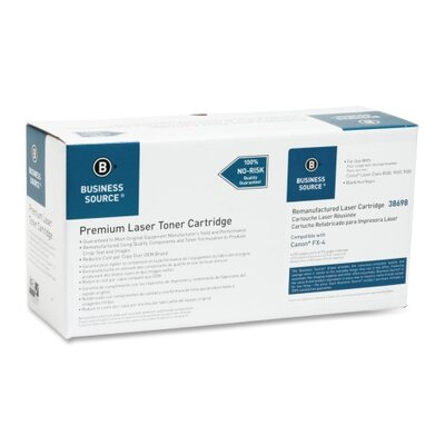 Business Source Fax Toner, 4000 Page Yield, Black