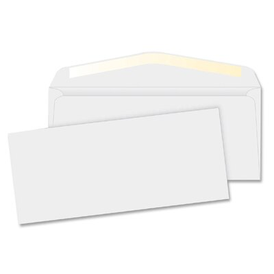 "Business Source Business Envelopes,24 lb.,No. 10,4-1/8""x9-1/2"",500 per Box,White"