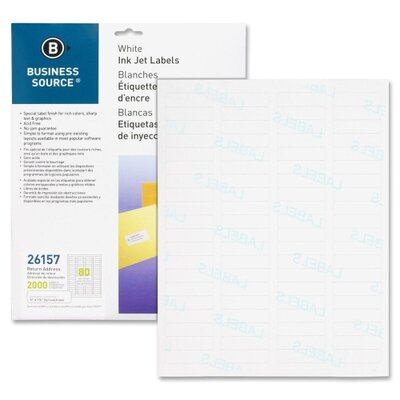 Business Source Mailing Label (Pack of 2000)