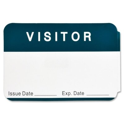 Business Source Visitor Label (Pack of 100)