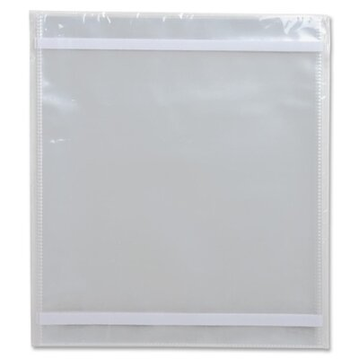 Business Source Vinyl File Pocket Folder (10 Per Box)