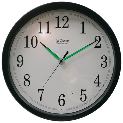 "La Crosse Technology Illuminations 14"" Wall Clock"