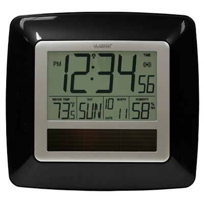 Solar Atomic Digital Wall Clock