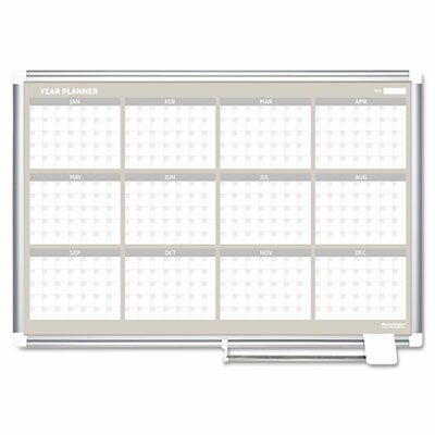 Bi-silque Visual Communication Product, Inc. Mastervision Mastervision 12 Month Year Planner