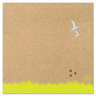 "Bi-silque Visual Communication Product, Inc. Tile 1' 4"" x 1' 4"" Bulletin Board"