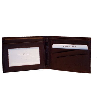 Kozmic Leather Bi Fold Wallet