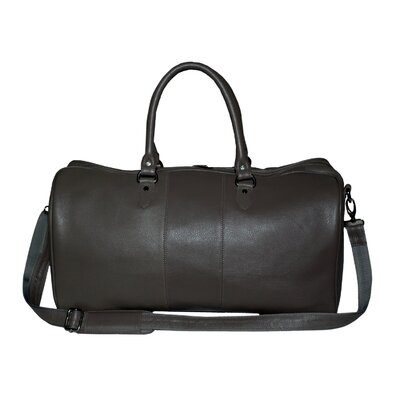 "Kozmic Pebble Grain 20"" Leather Travel Duffel Bag"
