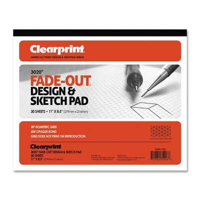 ClearPrint Grid Paper Pad