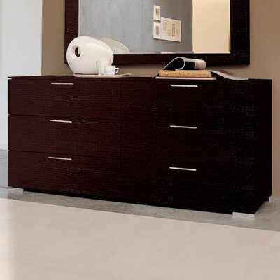 YumanMod Enter 6 Drawer Double Dresser