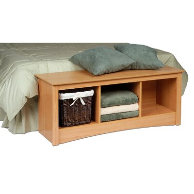 Prepac Sonoma Storage Bedroom Bench
