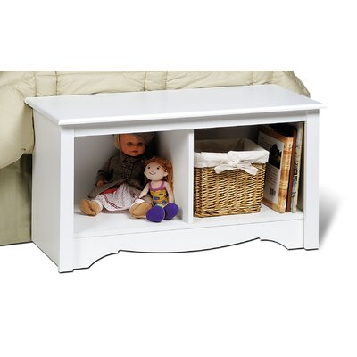 Prepac Monterey Bedroom Cubbie Storage Bench