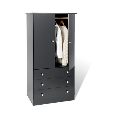 Prepac Casual Bedroom Armoire