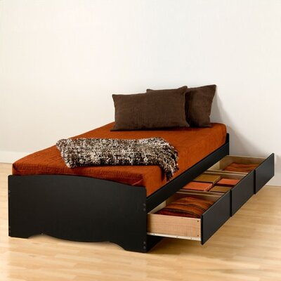 Prepac Sonoma Twin XL Platform Storage Bed