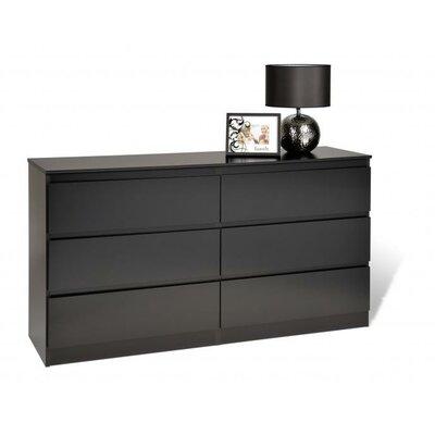 Prepac Avanti 6 Drawer Dresser
