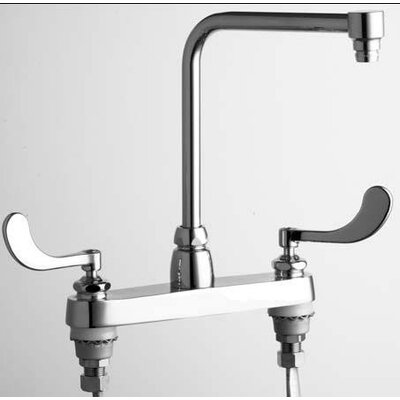 Kohler Coralais Laundry Sink Faucet with Threaded Spout and Blade ...