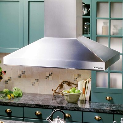 "Broan Nutone 39.38"" External Blower Island Range Hood"
