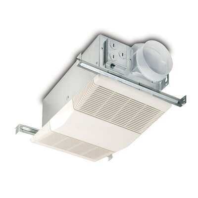 70 Cfm Bathroom Fan With Heater Wayfair