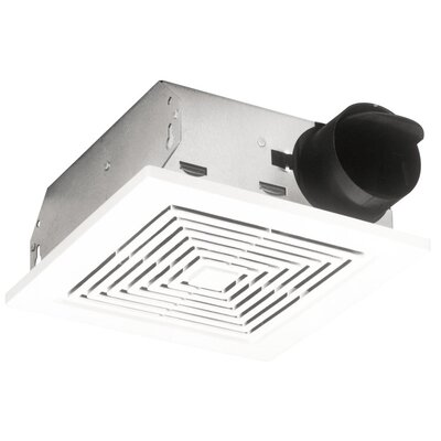 Ceiling/Wall Mount 50 CFM Bathroom Exhaust Fan