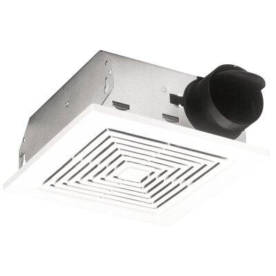 60 Cfm Ceiling Wall Mount Bathroom Exhaust Fan Wayfair