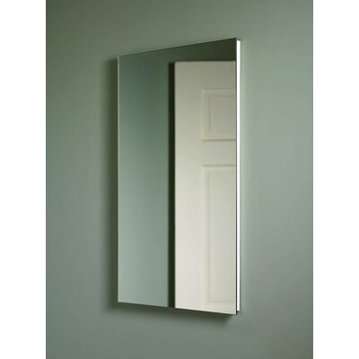 Broan Nutone Frameless Single Door Recessed Cabinet with Exterior Mirror