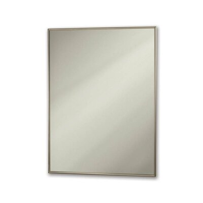 Broan Nutone Specialty Theft Proof Wall Mirror in Chrome