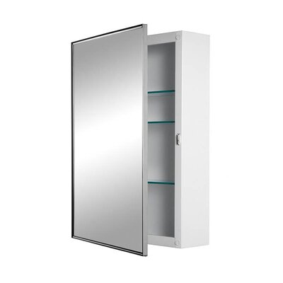Basic Styleline Surface Mount Cabinet with Plate Glass Mirror