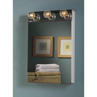 "Broan Nutone Styleline 18"" x 28"" Surface Mount Medicine Cabinet"