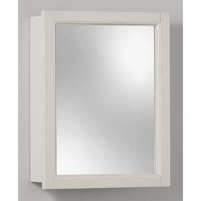 Broan Nutone Single Door Surface Mount Cabinet in White