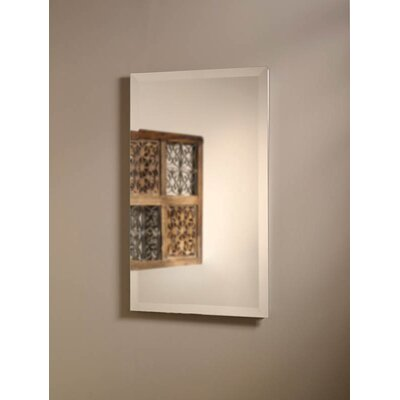 Specialty Perfect Square Single Door Recessed Cabinet with Three Shelves in Rust Resistant