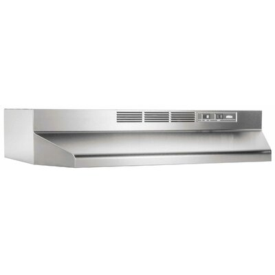 "Broan Nutone 30"" Non-Ducted Under Cabinet Range Hood"