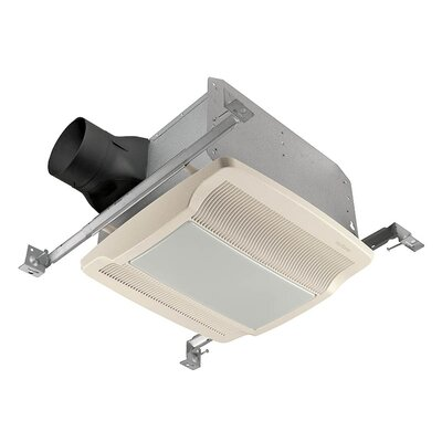Ultra Silent 80 CFM Energy Star Bathroom Fan with Fluorescent Light