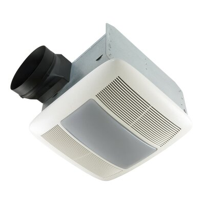 Ultra Silent 150 CFM Energy Star Quietest Bathroom Fan with Light