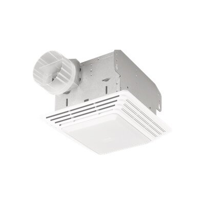 Heavy Duty 80 CFM Exhaust Fan with Light