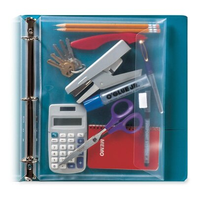 Itoya of America, Ltd Poly Envelope for 3-Ring Binder
