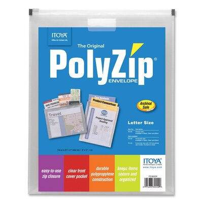 Itoya of America, Ltd Polyzip Vertical Envelope